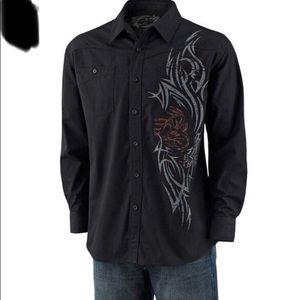 Legendary Whitetails Button Up Shirt NWOT